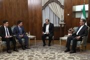 جهانگیری: تهران محدودیتی برای توسعه مناسبات با بیشکک ندارد