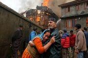 آتشسوزی مرگبار بیمارستان کرونایی در هند