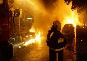 دو خودروی دیپلماتیک ترکیه در یونان آتش گرفت