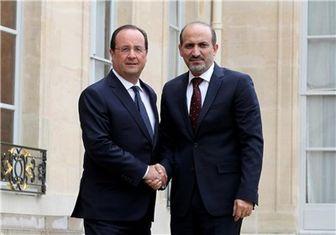 افتتاح سفارت معارضان سوریه در پاریس