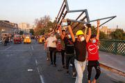 عراق اخبار کشته شدن تظاهرکنندگان در بغداد را تکذیب کرد