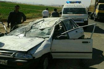 تصادف مرگبار در آزادراه کرج