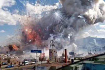 ۸۵ کشته و زخمی در آتشبازی و انفجار در مکزیک