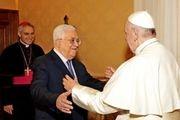 دیدار محمود عباس و پاپ فرانسیس در واتیکان