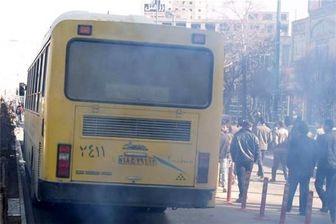 اتوبوسهای دودزا در پایتخت متوقف می شوند