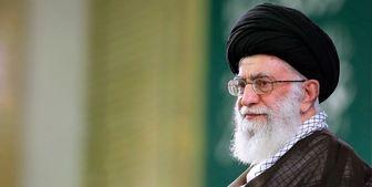 آیه نصبشده در حسینیه امام خمینی(ره)/ عکس