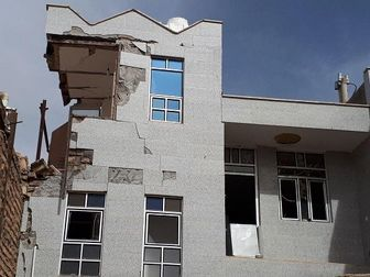 انفجار هولناک ساختمان مسکونی در ساوه