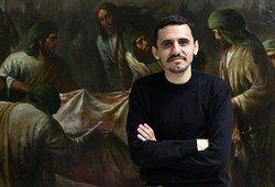 رونمایی از اثر هنرمند مشهور ایرانی در پاریس/عکس