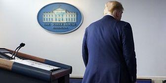 ترامپ رسماً و به زور از صندلی ریاست کنده شد