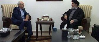 پیام ظریف به دبیرکل حزب الله