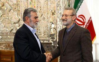لاریجانی: ایران همواره از مردم فلسطین حمایت می کند