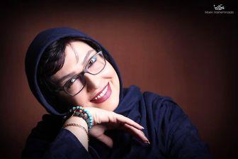 خانم بازیگر از نمای خیلی نزدیک/ عکس