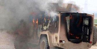 هدف قرار گرفتن کاروان لجستیک نظامیان آمریکا در عراق