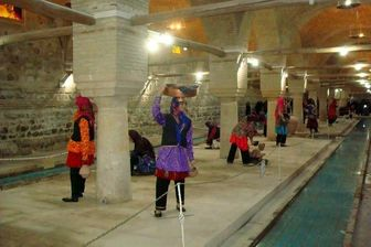 خودنمایی طبیعت برلباس محلی زنجان