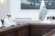 دیدار وزیر خارجه قطر با نخست وزیر طالبان