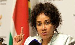 مواضع تند ضد صهیونیستی وزیر خارجه آفریقای جنوبی