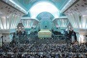 آغاز مراسم بیست و نهمین سالگرد ارتحال امام خمینی(ره)