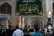 حرم امام علی(ع) در آستانه میلاد رسول اکرم(ص)/ گزارش تصویری