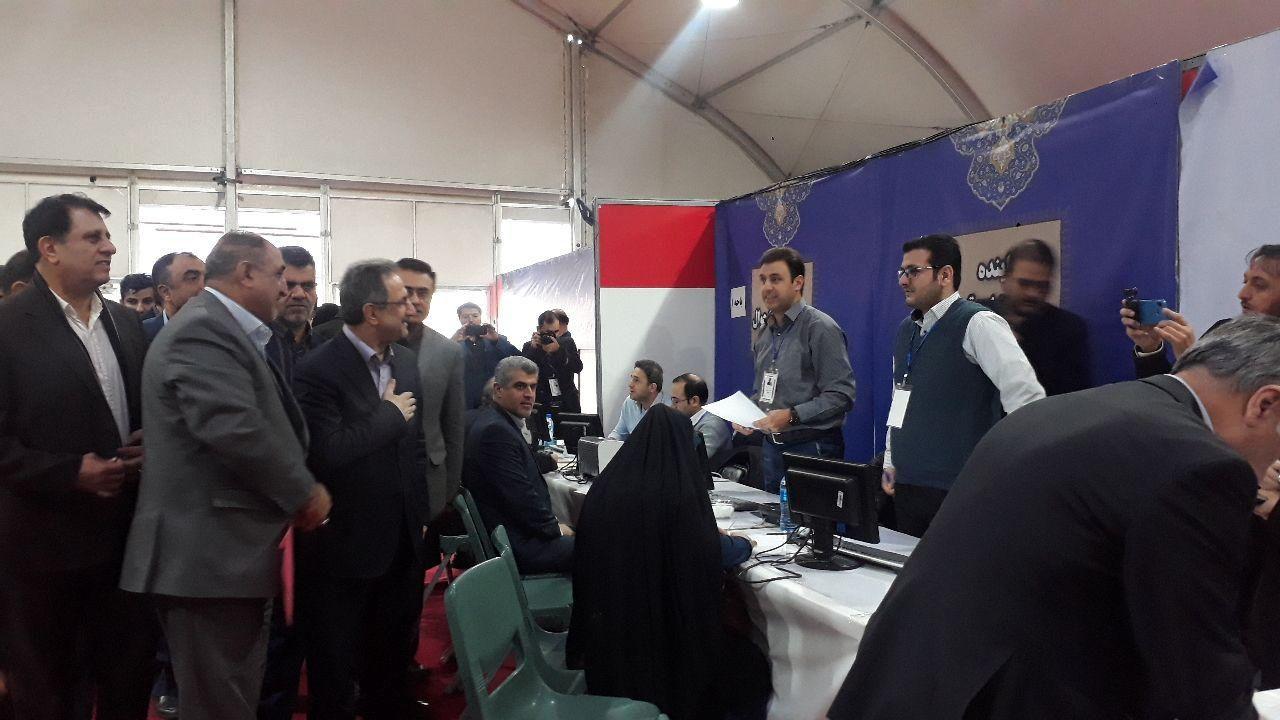 استاندار از حوزه انتخابیه فرمانداری تهران بازدید کرد