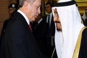 گفتوگوی تلفنی شاه سعودی و اردوغان