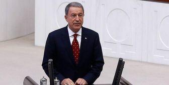 """وزیر دفاع ترکیه شمشیر را برای """"پ ک ک"""" از رو بست"""