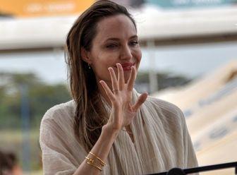 گریم جدید آنجلینا جولی در «جاودانهها»+ عکس