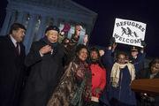 مهاجران در آمریکا تظاهرات کردند