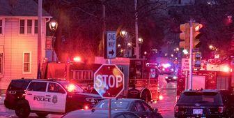 زخمی شدن 4 مأمور پلیس توسط معترضان نژادپرستی/ فیلم