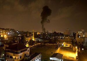 وقوع چند انفجار پیاپی در غزه