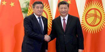 رایزنی رؤسای جمهور قرقیزستان و چین