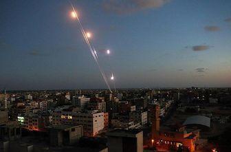 حملات راکتی تروریست ها به دمشق