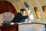 جت شخصی رهبر کره شمالی در روسیه دیده شد