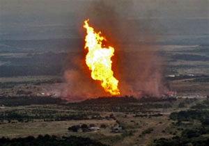 انفجار در خط لوله انتقال نفت به پالایشگاه بانیاس سوریه