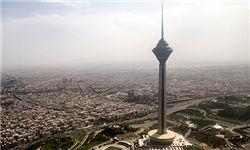 برج میلاد غرق در مه/ عکس