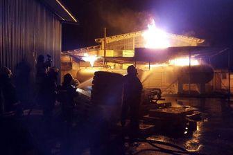 کشته شدن 1 نفر در آتشسوزی مرگبار در خیابان سیمون بولیوار