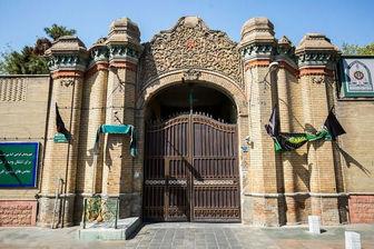 بازسازی درب اصلی پلیس آگاهی پایتخت با همکاری شهرداری منطقه ۱۱