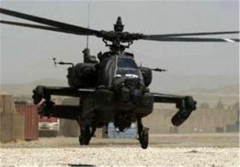 یمن یک بالگرد آپاچی عربستان را سرنگون کرد