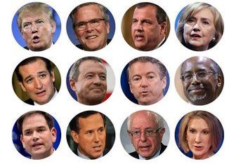 آرایش انتخابات مقدماتی ریاستجمهوری آمریکا در سال ۲۰۱۶