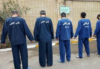 دستگیری ۶ سارق خودرو و کشف برنجهای قاچاق در قم