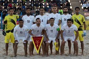 شکست تیم اوکراین برابر ساحلی بازان ایران