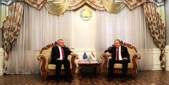 رایزنی دبیرکل پیمان امنیت جمعی با وزرای دفاع و خارجه تاجیکستان