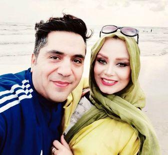 سفره عقد لاکچری صبا راد و همسرش! +عکس