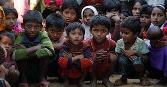 به آتش کشیدن بیش از ۳۵۰ روستای روهینگیا