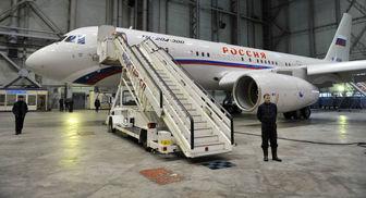 """هواپیمای """"وی آی پی"""" روسیه در دمشق ظاهر شد"""