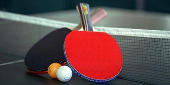 ۶ مدال رنگارنگ برای تنیس روی میز ایران