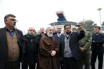 بازدید حجت الاسلام والمسلمین صدیقی از بهشت زهرا(س)