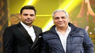 کل کل مهران مدیری و احسان علیخانی در جشن حافظ+فیلم