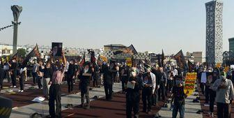 آغاز تجمع اعتراضی مردم تهران در اعتراض به اهانت به پیامبر اسلام و قرآن کریم