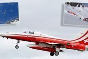 سقوط جنگنده نیروی هوایی سوئیس