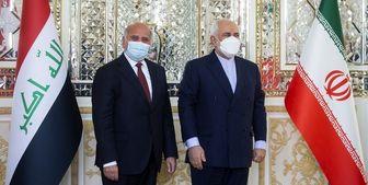 توئیت ظریف پس از دیدار با وزیر خارجه عراق
